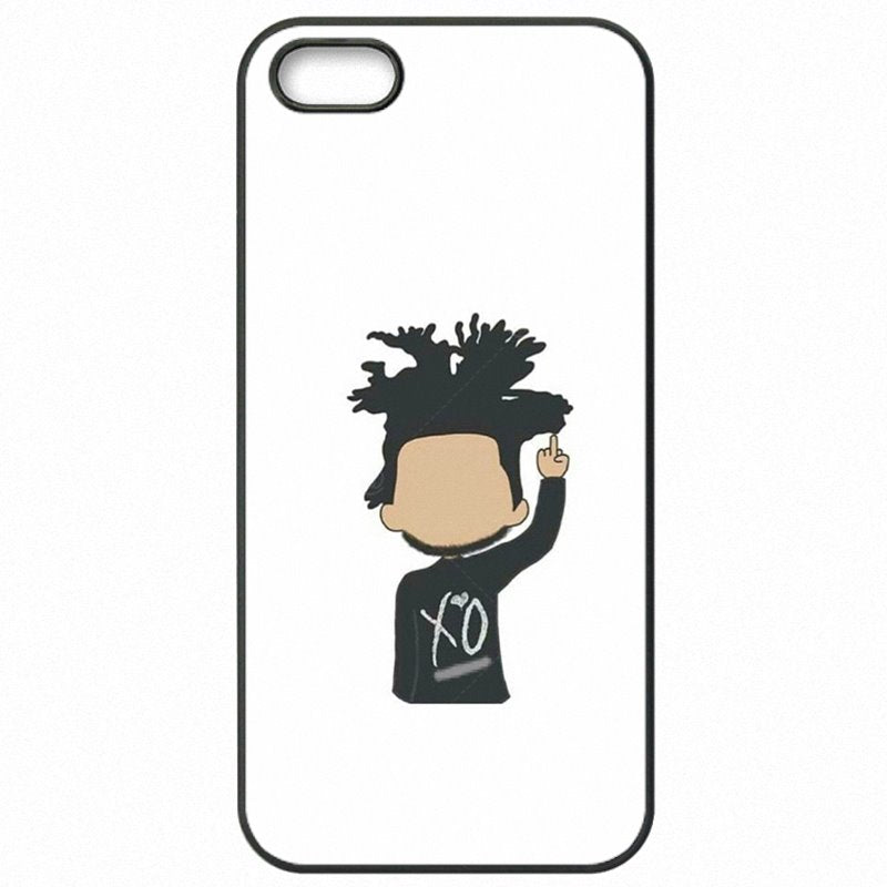 Hard Phone Covers Case The Weeknd XO Logo Abel Tesfaye band Art For iPod Touch 6 Best Quality