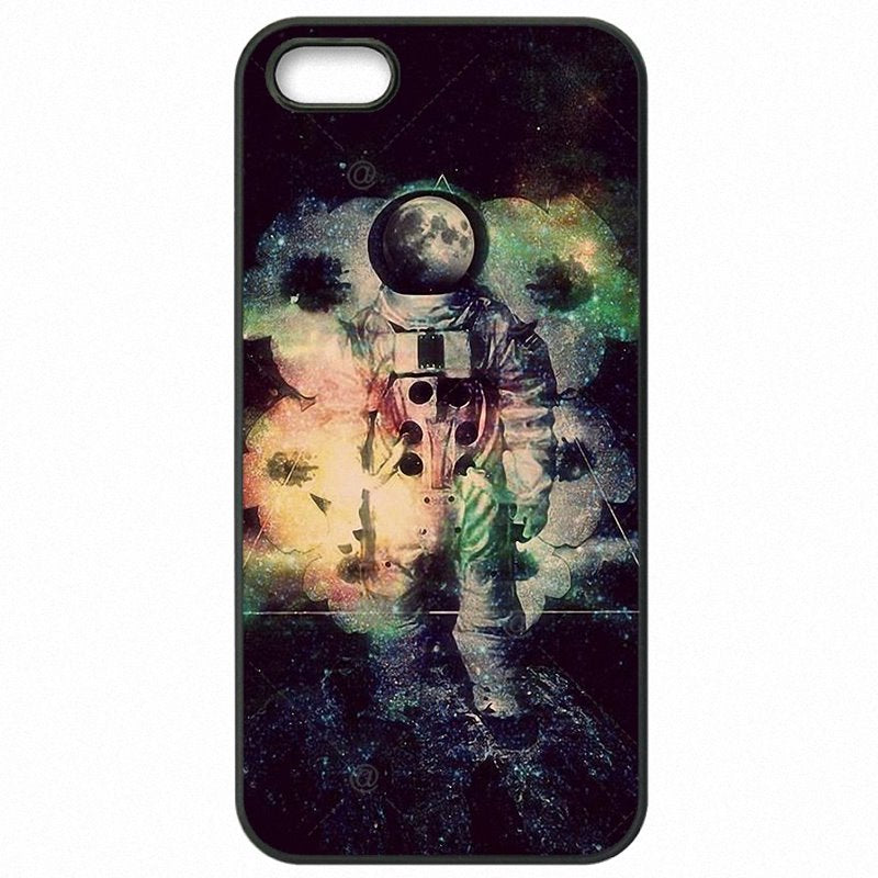 Arrival The spaceman's trip astronaut Design Pastel Art For Lenovo A 2010 Hard Phone Skin