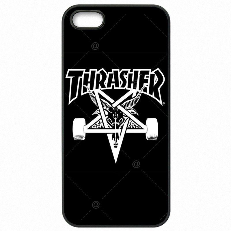 For Ladies For Sony Xperia A4 Thrasher Goat Logo Skateboard brand Plastic Phone Case Capa