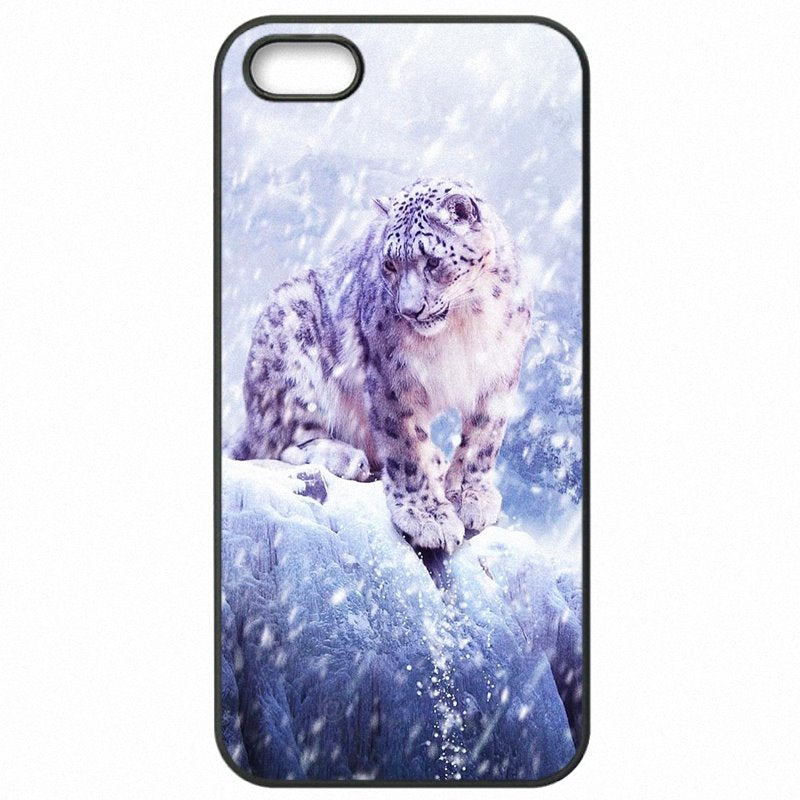 Protector Phone Skin Case Triangle Blue Eye Snow Leopard Animal Tiger For Sony Xperia XA Dual Stunning