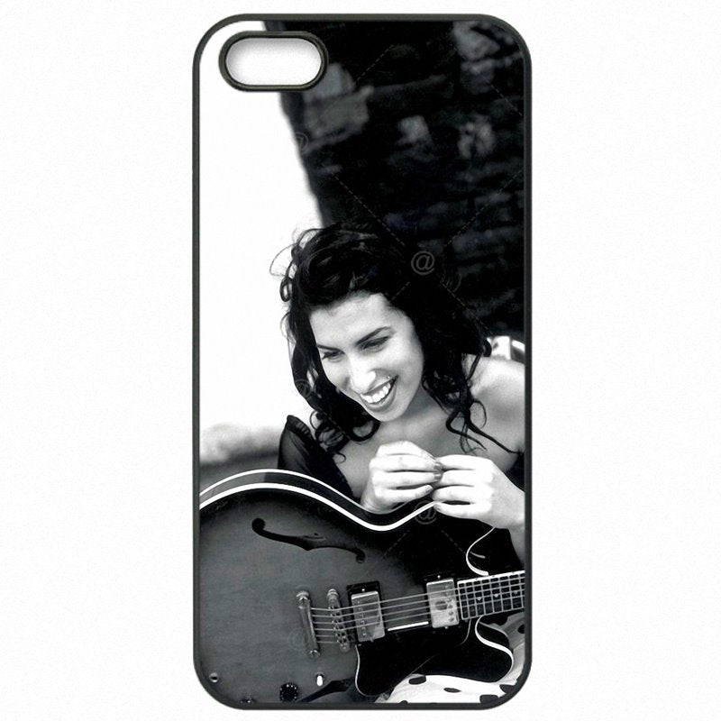 Protective Phone Skin Case For Galaxy J7 Prime G610M UK Girl Singer Amy Winehouse Art Reasonal Price