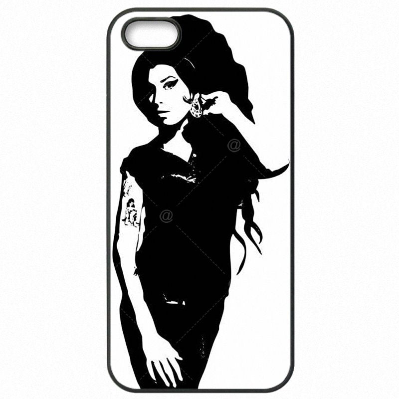 Prix UK Girl Singer Amy Winehouse Art For Galaxy A5 2016 Duos Plastic Phone Skin Shell