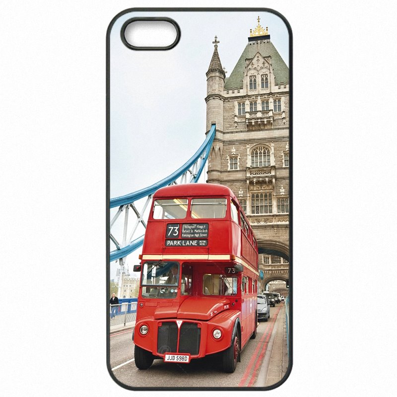 Free For Galaxy Core Prime G361HZ UK London Red Bus Big Ben Poster Mobile Phone Cover Skin