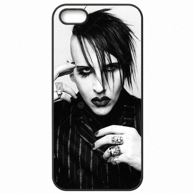 The Newest For Sony Xperia XA F3116 UK Marilyn Manson Brian Warner Art Poster Hard Mobile Phone Shell Case