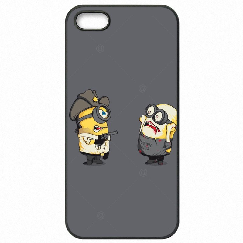 Mobile Pouch Cover Shell Walking Dead Minions zombies Despicable For Galaxy S4 Mini Baby