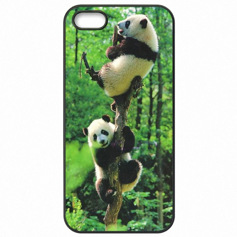 Stores Watercolor Panda Cartoon Animal Pattern Art For Huawei P9 Lite 2016 Hard Mobile Phone Accessories