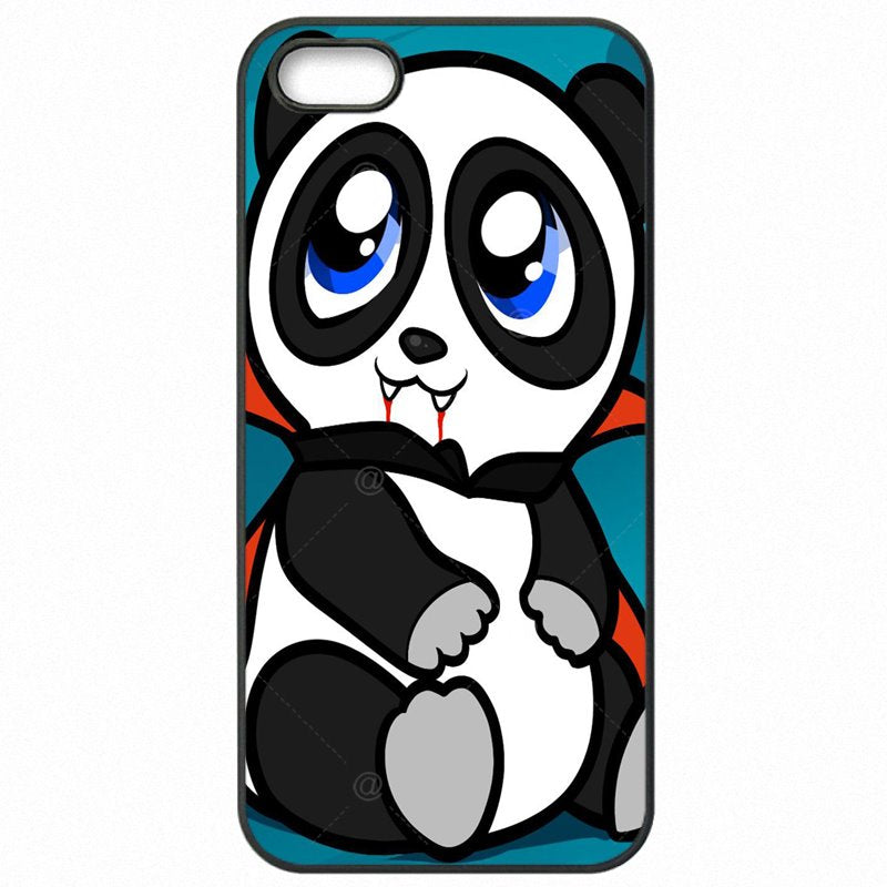 Colores Watercolor Panda Cartoon Animal Pattern Art For Moto Nexus 6 Mobile Pouch Capa