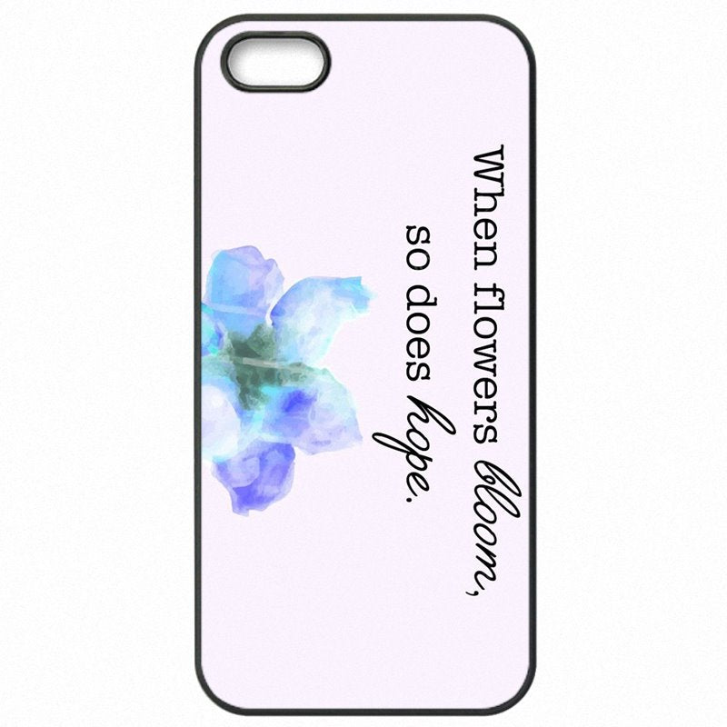 Hard Mobile Phone Case Where flowers bloom so does hope Print For Lenovo A6000+ Mall