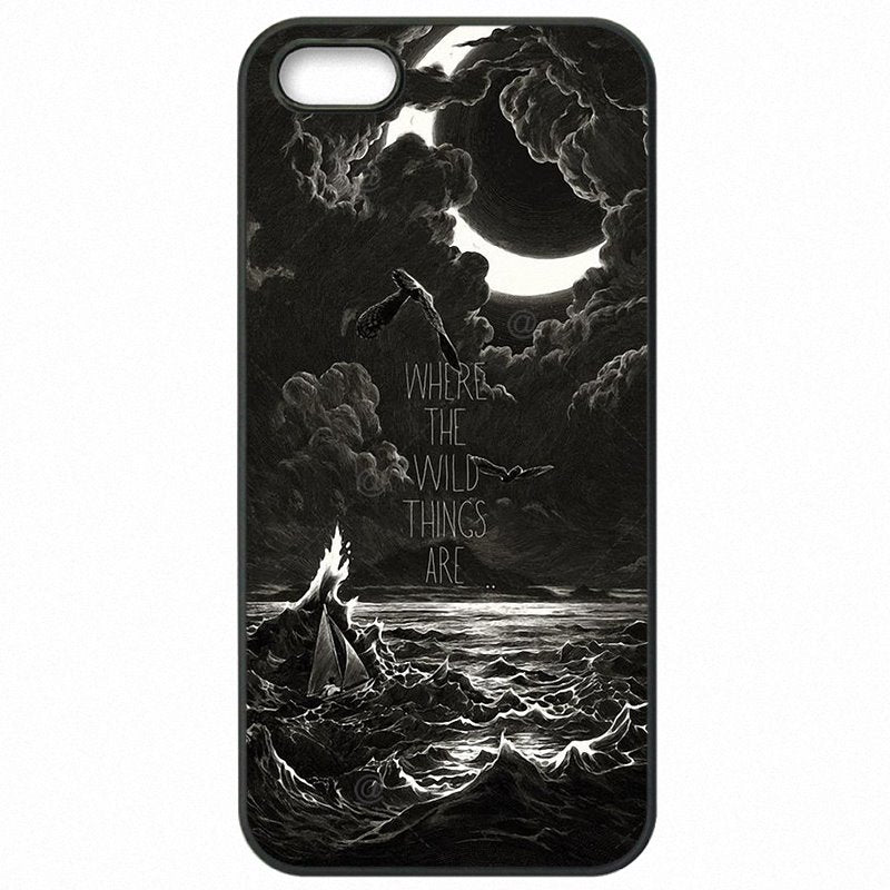 Les Nouvelle Where the Wild Things Are 2009 Poster For Google Nexus 8 Mobile Phone Cover Bags For Google Case