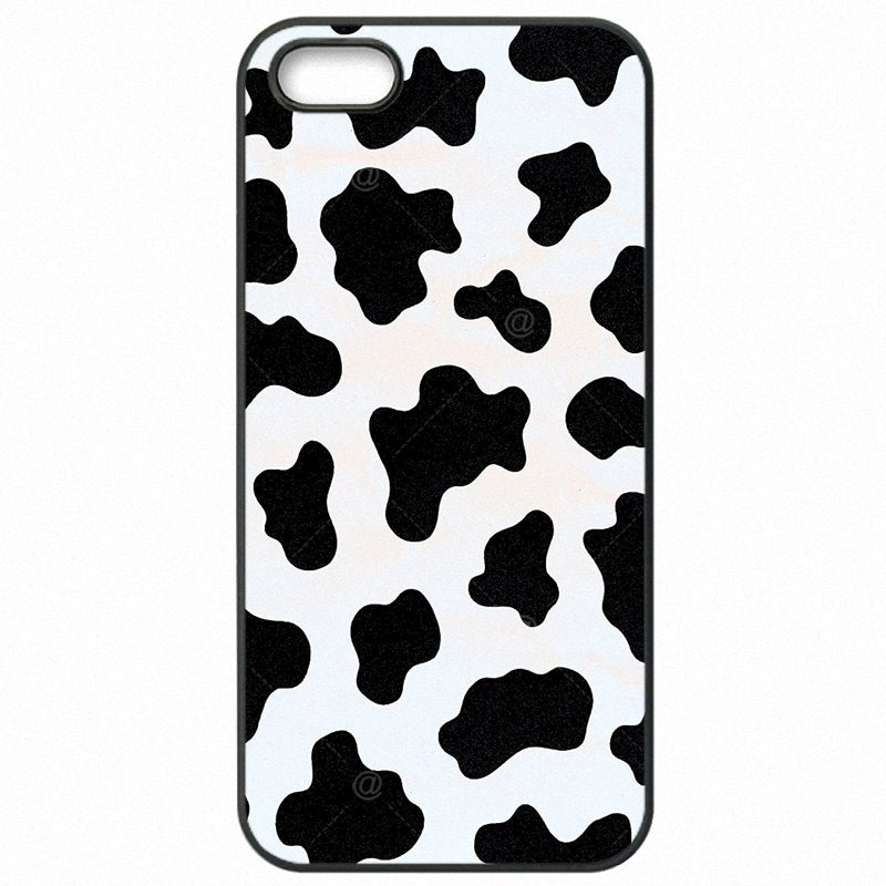 Incredible White Black Cow Symbol Pattern Print For Sony Xperia M2 D2303 Accessories Phone Accessories