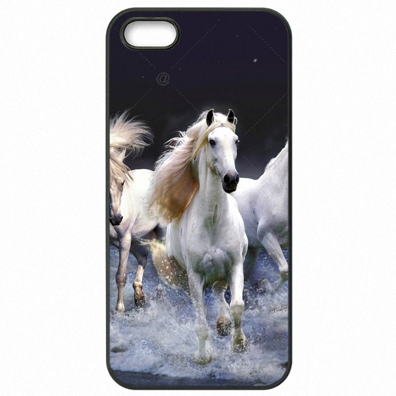 Hard Mobile Phone Cover Skin For LG Google Nexus5X Wild horses Running at sunset Poster Durable For Google Case
