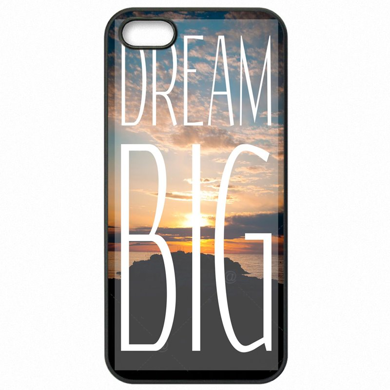 Protector Phone Shell For Sony Xperia Z3 Work Dream Big Bigger Life Quotes Art JR