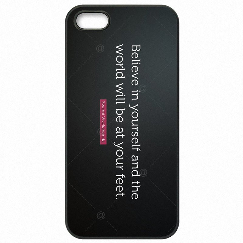 Less For Nokia Lumia 650 You Can Believe In Yourself Quotes Hard Phone Cover Skin