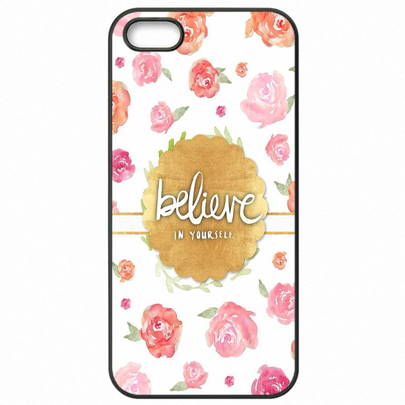 Plastic Phone Bags Case You Can Believe In Yourself Quotes For Galaxy A7 2016 A710FD  Rugged