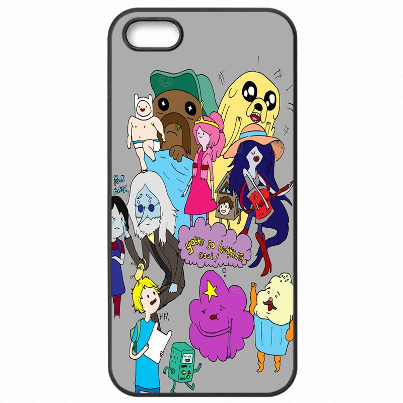 Fashion For Moto X Play XT1562 adventure time collage Print Cell Phone Skin