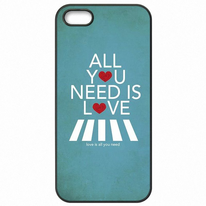 Mobile Phone Bags For Galaxy S5 Active G870A all you need is love Poster Colores