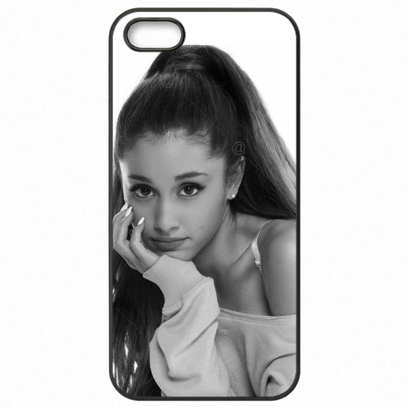 Hard Mobile Phone Skin For OnePlus X ariana grande sexy Gril music celebrity Art For Youth Girls