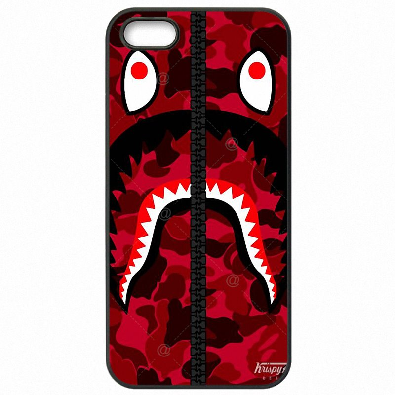 Mobile Pouch Shell Case For Xiaomi Redmi Note 3 bape shark army camo Camouflage Aape For Youth