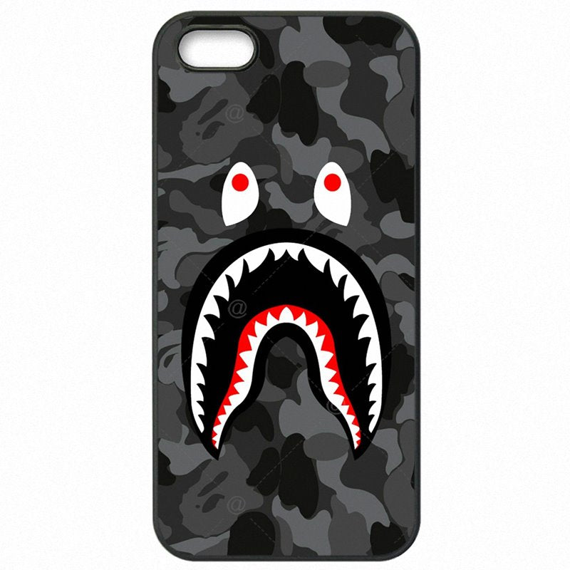Kid For iPod Touch 6 bape shark army camo Camouflage Aape Protector Phone Cover Fundas