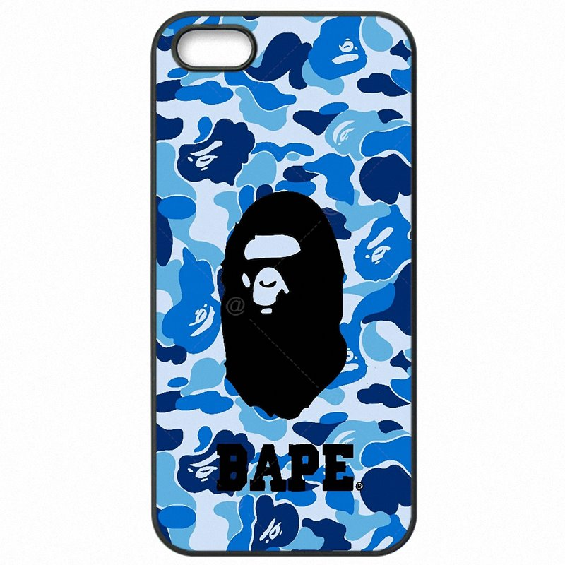 Hard Phone Cover Bags bape shark army camo Camouflage Aape For Moto G4 Play XT1607 Lady