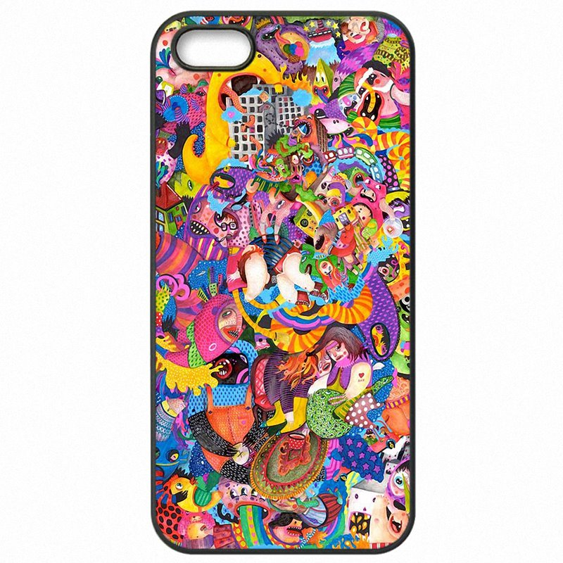 Most Popular drawing surreal colorful psychedelic Art For Xiaomi Redmi Note 3 Pro Accessories Phone Cover Fundas