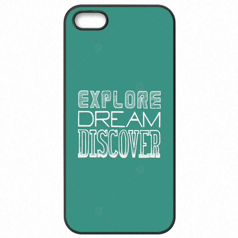 Hard Plastic Phone Bags explore dream dis The one simple question For Lenovo K6 Note 5.5 inch Low Price