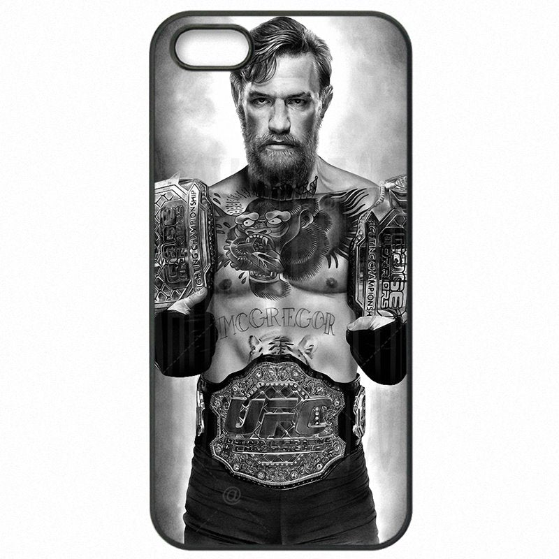 Hard Mobile Phone Cases Cover harajuku hombre The Notorious Conor McGregor UFC Poster For Galaxy Note 4 N9109W Order