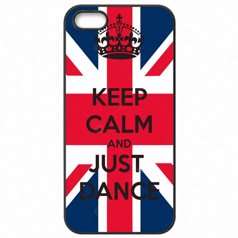 Customize keep calm and just dance UK For Huawei Ascend P9 Lite Plastic Phone Coque