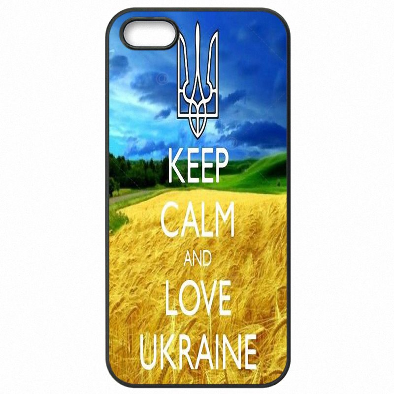 Factory For Galaxy S IV Mini keep calm and love Ukraine print Accessories Phone Cover Skin