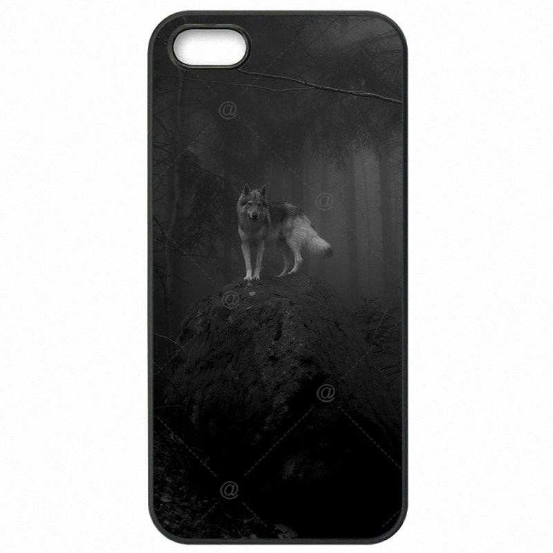 Plastic Phone Covers Case For Moto G4 Play XT1609 lone wolf wolf wisdom Poster Classic