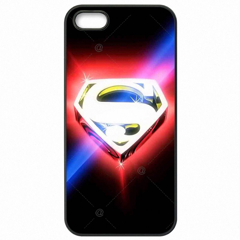 World Cup For iPod Touch 4 marvel hero Man of steel Crazy superman logo Mobile Pouch Skin