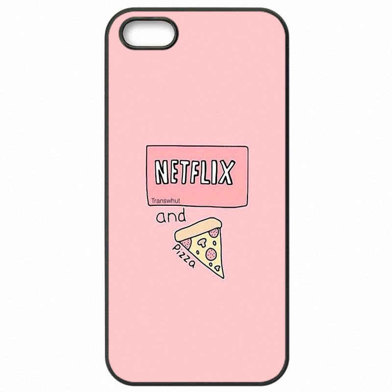 Mobile Pouch Capa For Huawei P9 Lite 2016 pink pizza Pattern Collage Store