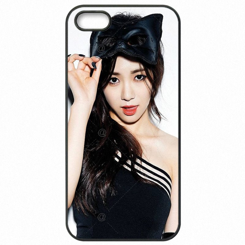 Upcoming For Galaxy A8 2015 A800Y seol hyun kpop aoa sexy girl Ace Of Angels Hard Phone Accessories