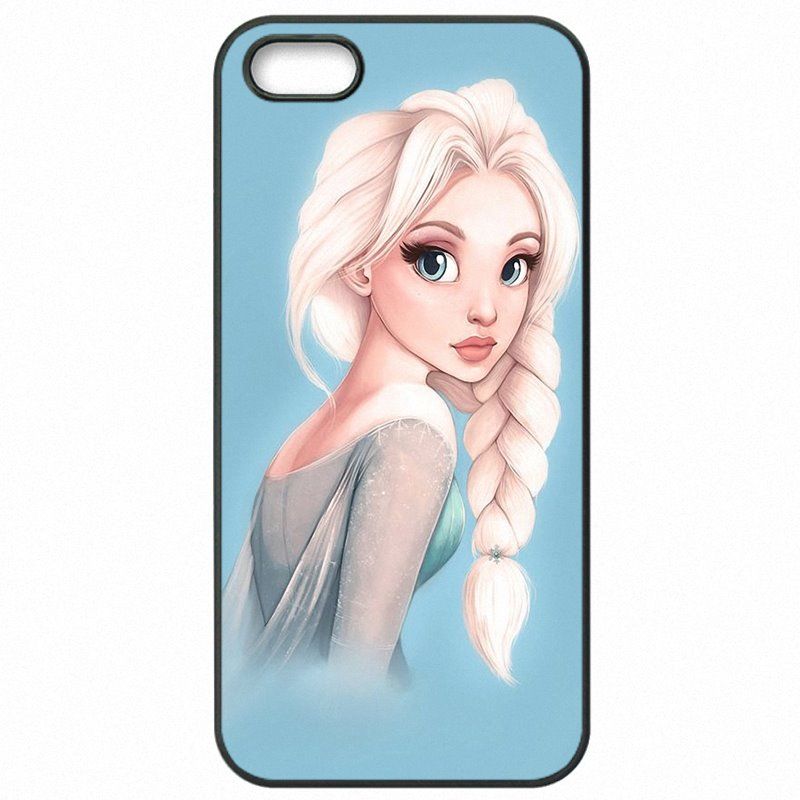 Plastic Phone Case Capa sexy girl Punk Elsa Anna Tattoo Princess For Galaxy Note 4 N910C Real