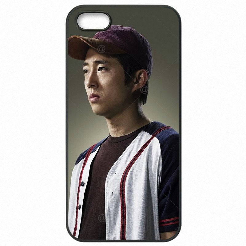 Mobile Pouch Fundas the walking dead Glenn Steven Yeun Poster For Galaxy A7 2016 A710M The Latest