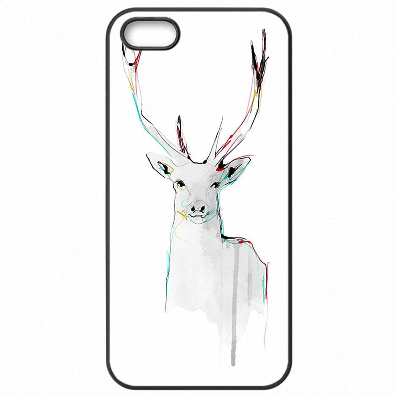 Mobile Phone Case Cover wild Elk Deer Art Print Pattern For Xiaomi Redmi 2 4.7 inch Clearance