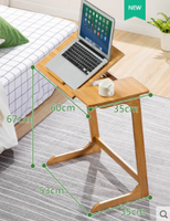 Bamboo Table Computer Table Monitor Stand Office Table Study Table
