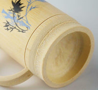 Bamboo Cup Handcrafted