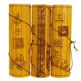 Bamboo Scroll Slips Chinese Classical Traditional  Famous Books Collectibles