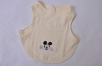 bamboo natural fiber fabric baby bib machine washable soft hypoallergic 婴儿口水巾