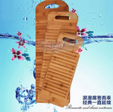 Bamboo Corrugated Laundry Washing Cleaning Hand-washed Clothes Washboard 竹洗衣板