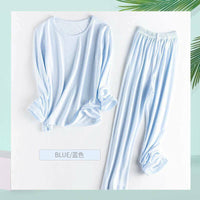 Bamboo Fiber Kids Children Pajamas Sleepwear Soft Breathable Summer Thin Cool