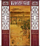 Bamboo Curtain & Screen Blind Rolling Curtain Panel Privacy Custom Size Picure