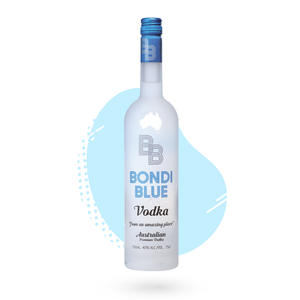 Bondi Blue Vodka 750ml
