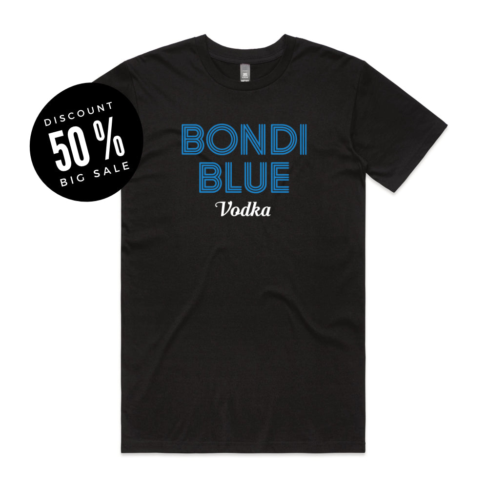Bondi Blue Tee - Black