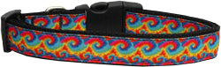 Nylon Ribbon Collars for Dog  - Tie Dye