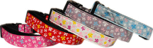 Nylon Ribbon Butterflies Dog and Cat Collars/Leashes