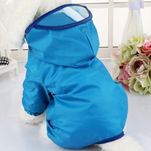 Waterproof Dog Raincoat - Available in 6 sizes and 5 colors - Four Legs Boutique