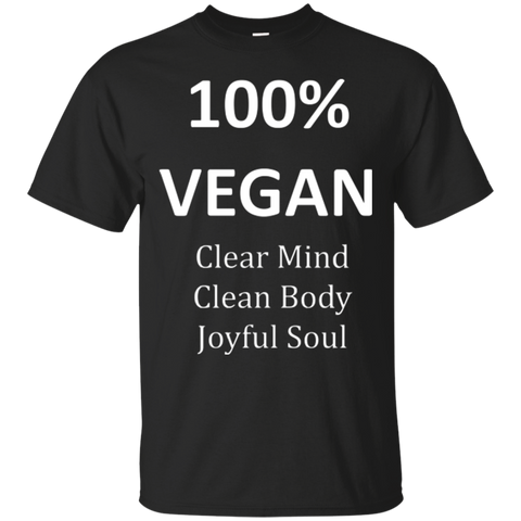 """100% Vegan"" Men's T-Shirt"