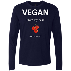 """Tomatoes"" Men's Premium Long Sleeve"